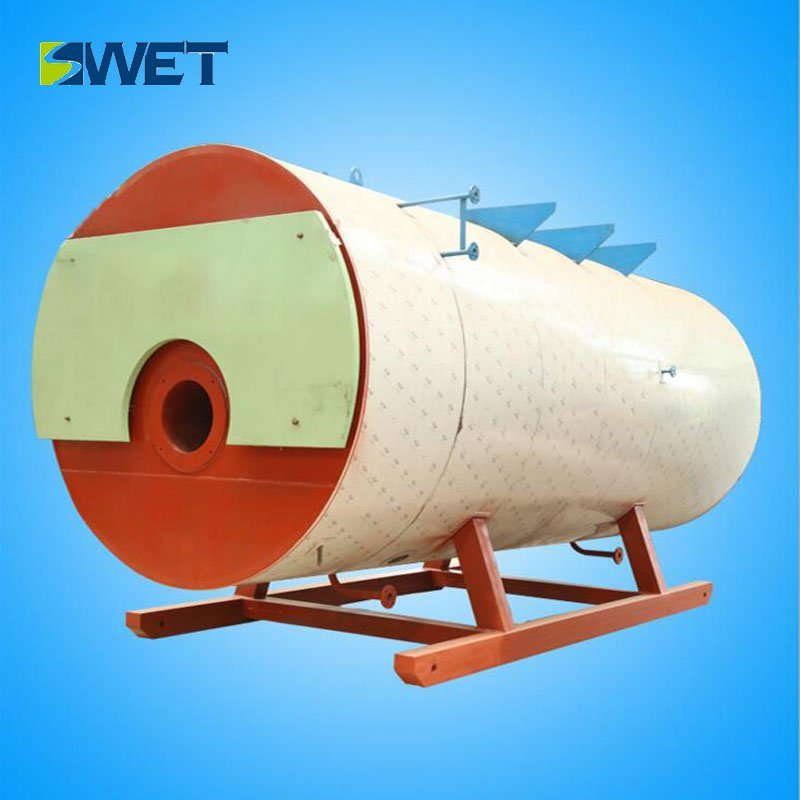 WNS 10t/h oil gas fired steam boiler