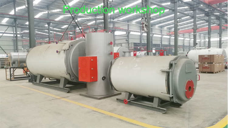 Production workshop for boiler