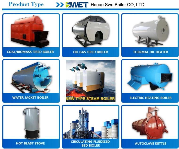 oil gas boiler