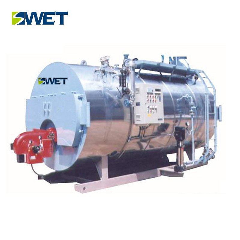 Full-automatic Low Nitrogen Single Drum oil gas fired Steam Boiler
