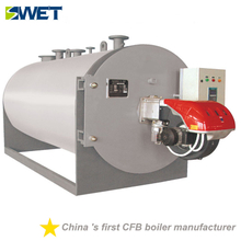 WNS 2.1 MW gas oil fired hot water boiler